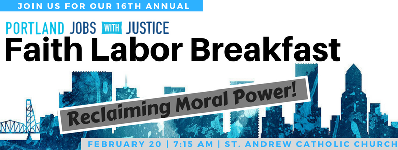 16th Annual Faith Labor Breakfast!