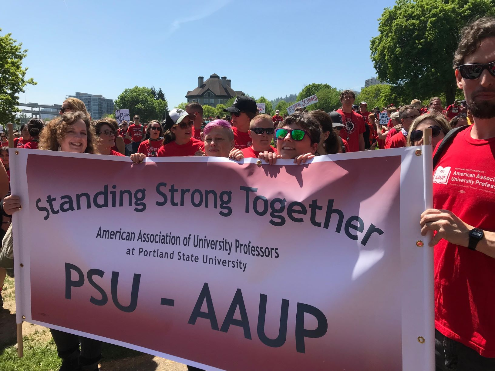 AAUP at the Rally for Education May 08, 2019