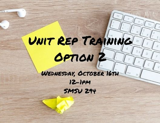Unit Rep Training - Option 2