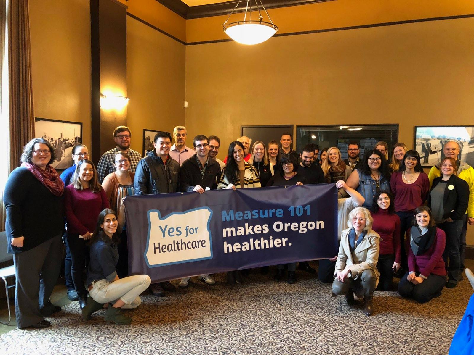 Yes on Measure 101 Portland Campaign Kick-Off