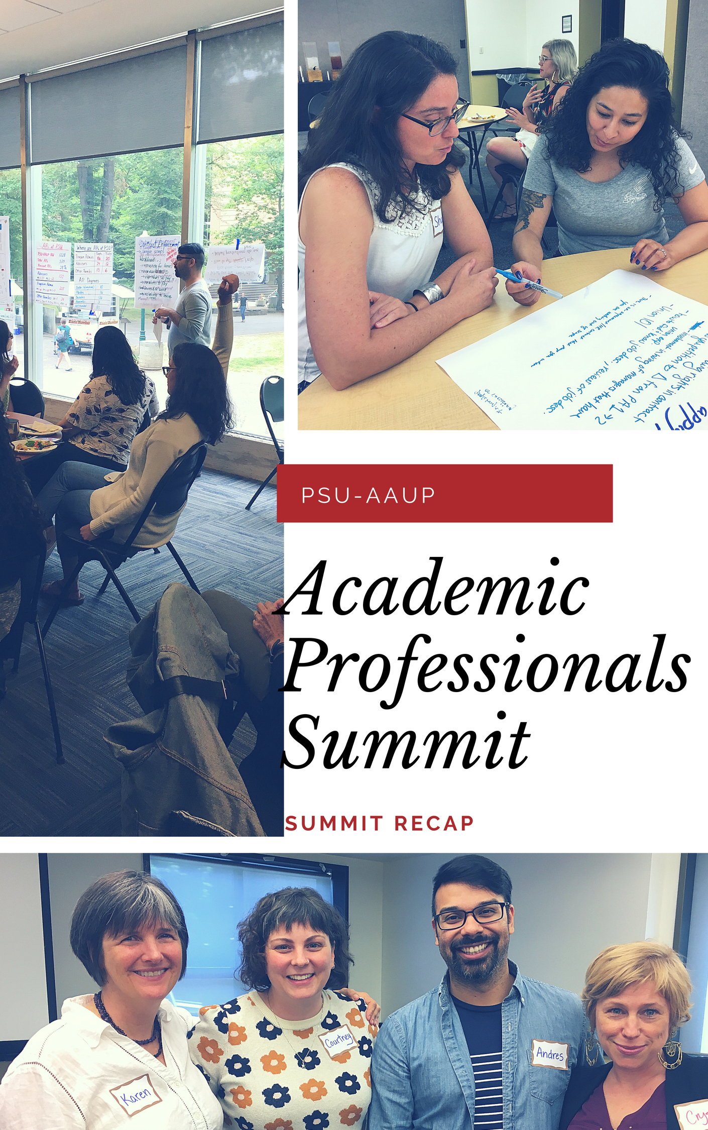 Academic Professionals Summer Summit Recap
