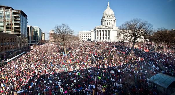 Event: Lessons from the 2011 Wisconsin Uprising—March 14 (presented by Jobs with Justice)