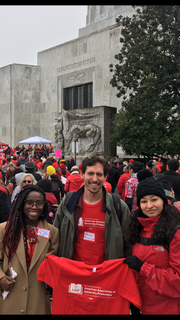 AAUP goes to Lobby Day 2018