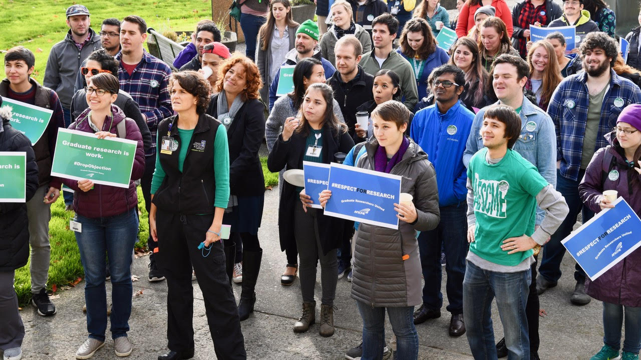 OHSU lifts objection to letting grad students organize