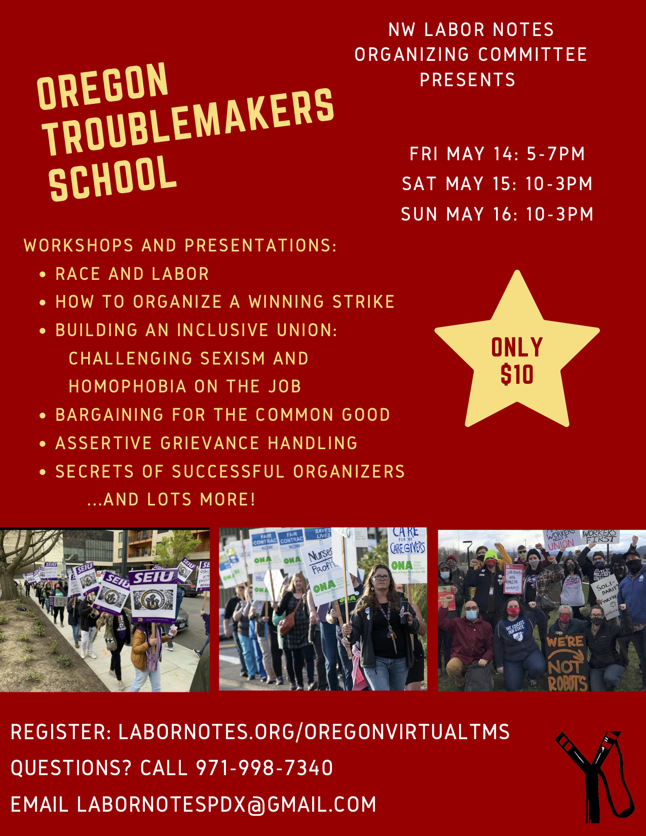 Oregon Troublemakers School