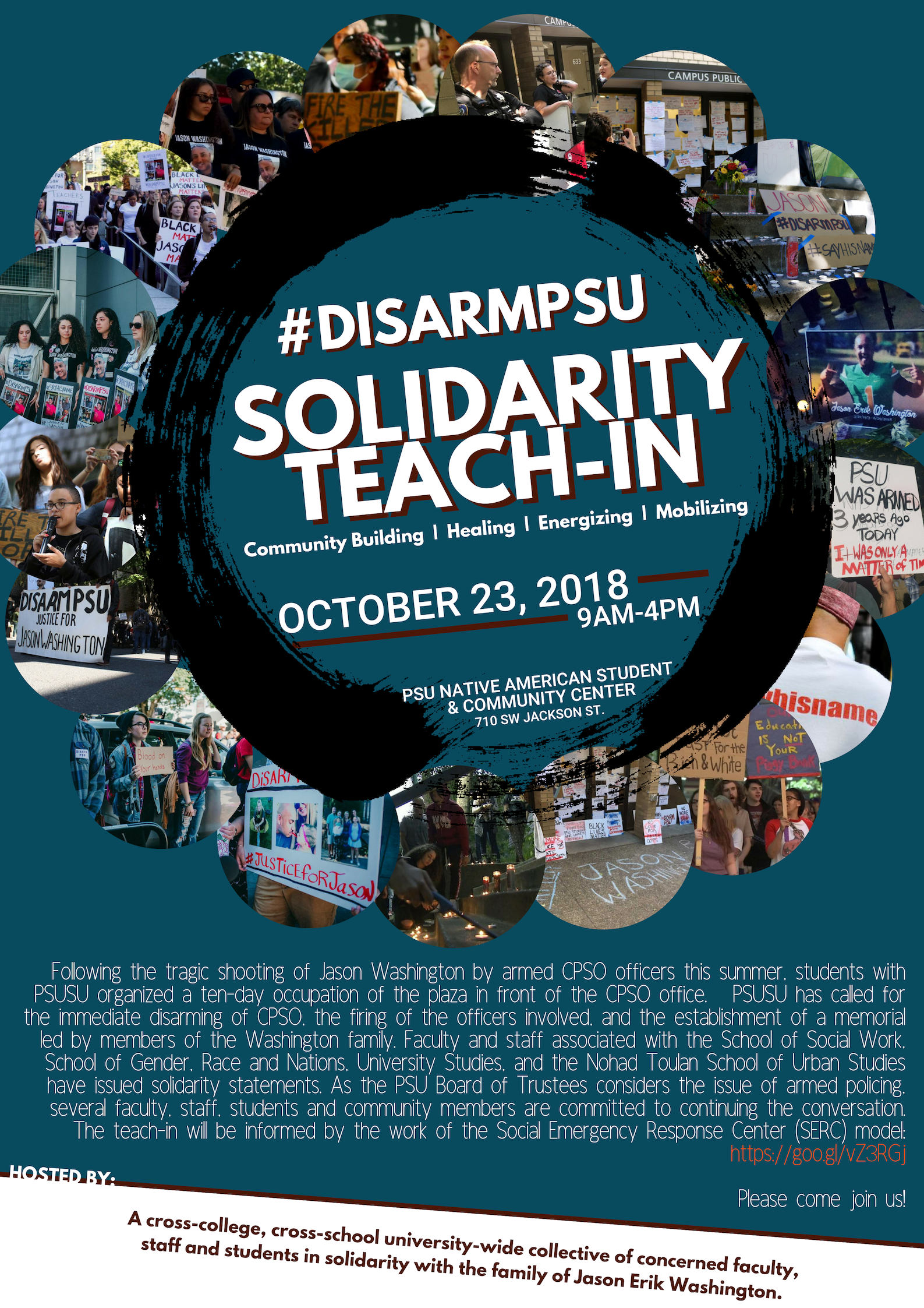 #DISARMPSU Solidarity Teach-In