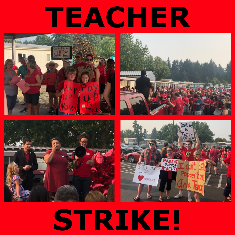 Partner Event: Support Striking Teachers-Join the JwJ Solidarity Squad Caravan!! Tues. Aug 28, 10am-2pm, NE Portland