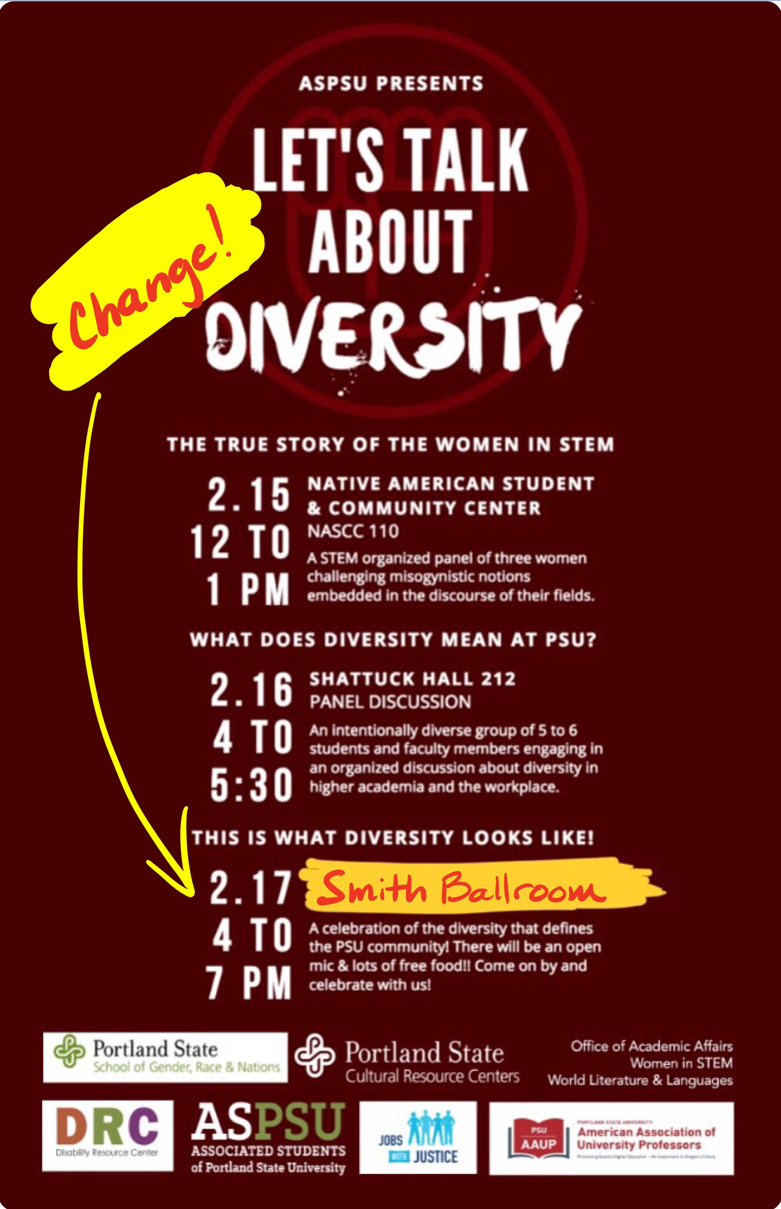 Responsible Academic Freedom and Celebration in Defense of Diversity! Feb. 15-17