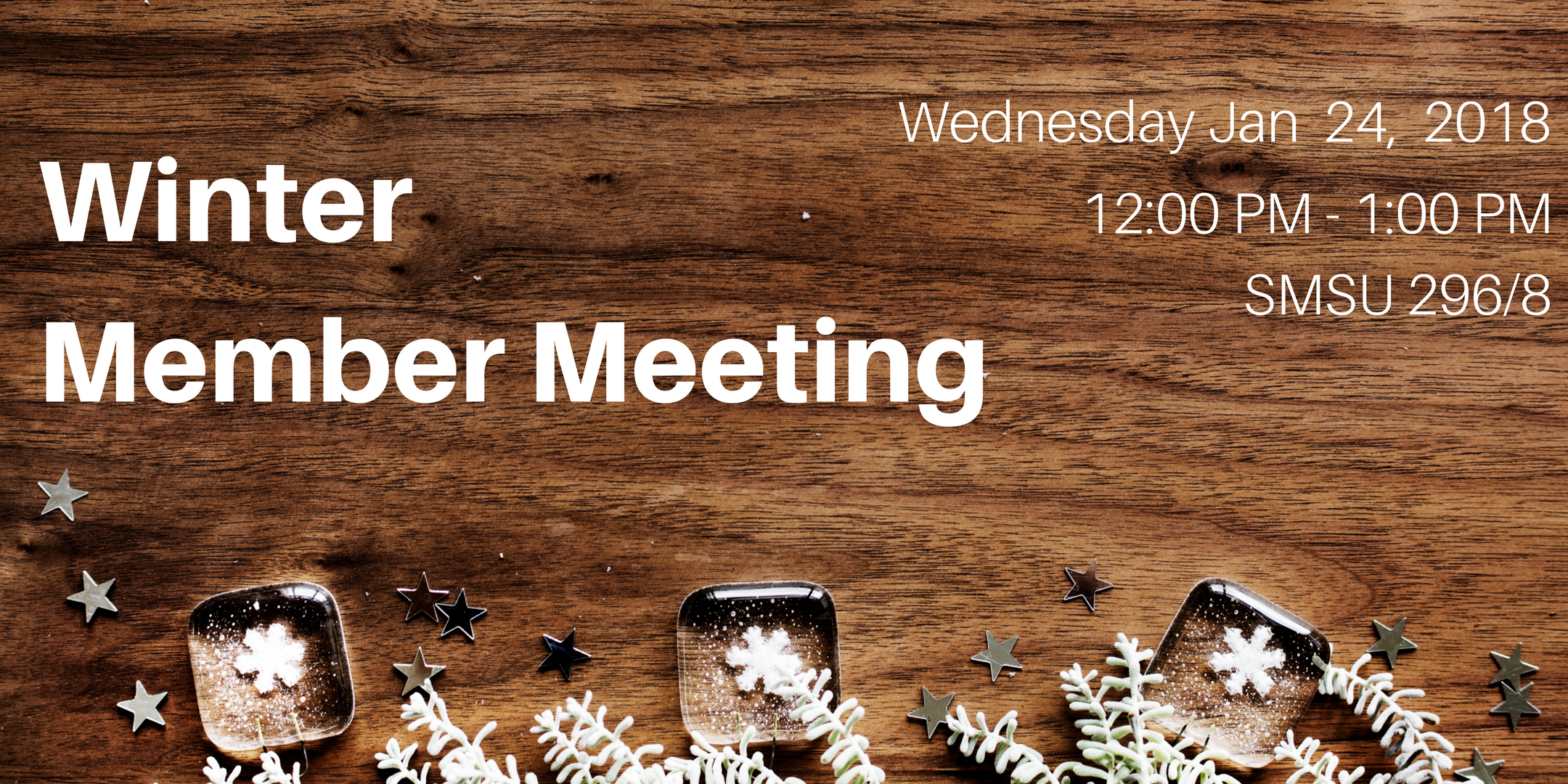 Winter Member Meeting 2018