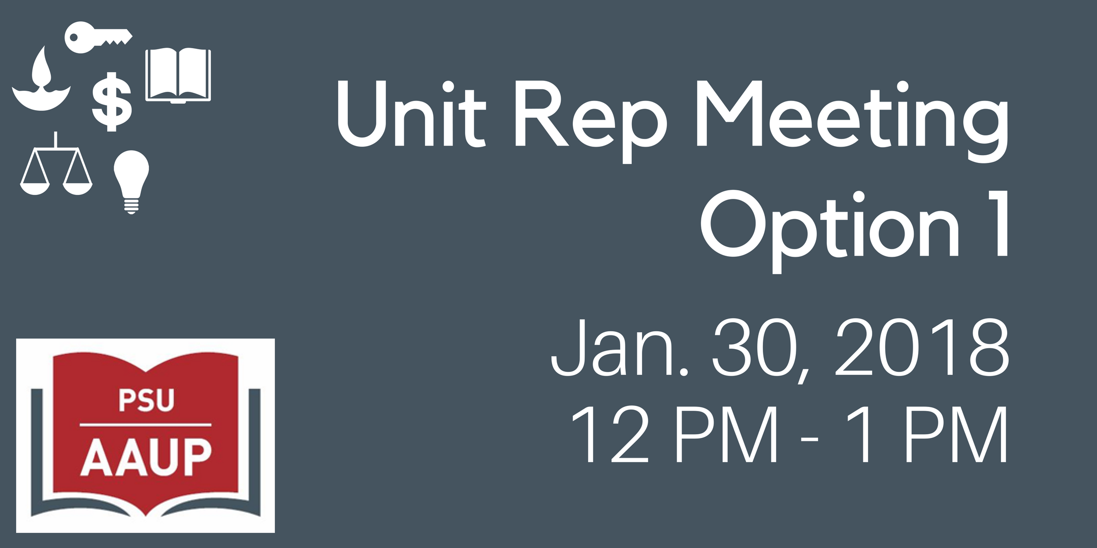 Unit Rep Meeting Option 1