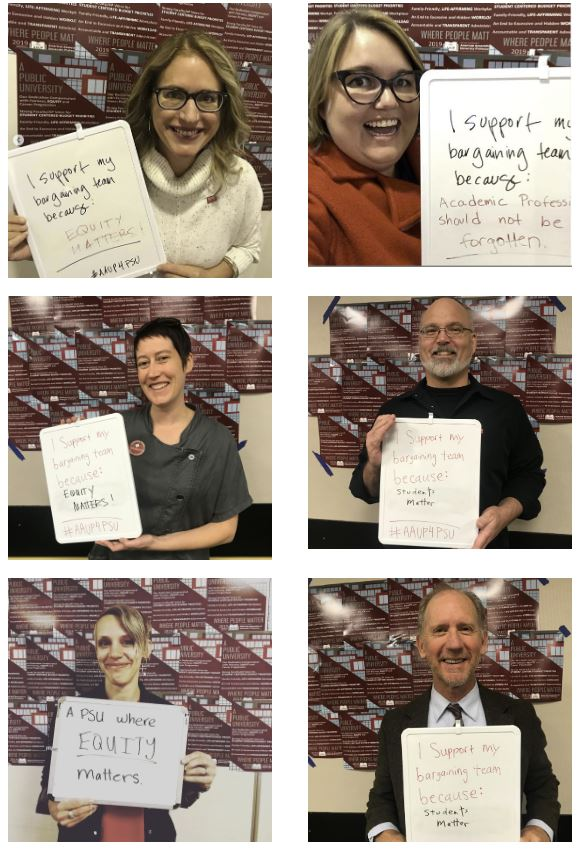 PSU-AAUP Selfie Campaign and Giveaway!